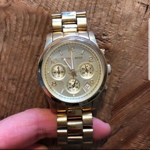 MK Gold Watch (5505)